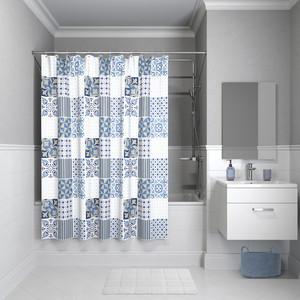 Штора для ванной IDDIS Basic 180x180, синий (B03P118i11)