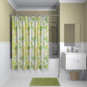 Штора для ванной IDDIS Promo 180x180, зеленая (P01P118i11)