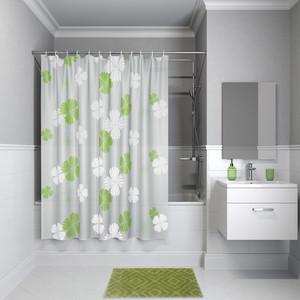 Штора для ванной IDDIS Promo 180x180, зеленая (P07PV11i11) штора для ванной 180 180 см пэт однотонный 10 40