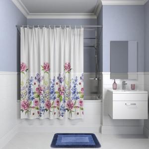 Штора для ванной IDDIS Promo 180x180, разноцветная (P06PV11i11) штора для ванной 180 180 см пэт однотонный 10 40