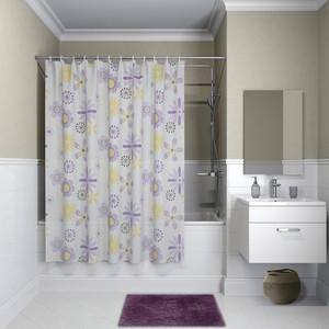 Штора для ванной IDDIS Promo 180x180, сиреневая (P03PV11i11)