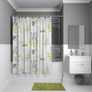 Штора для ванной IDDIS Promo 180x180, зеленая (P02PV11i11)
