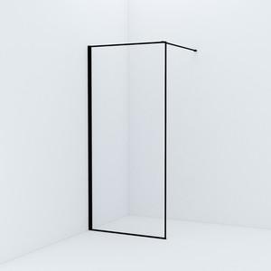 Душевой уголок IDDIS Slide 202x95 стекло прозрачное, профиль черный (SLI8BS9i23) фото