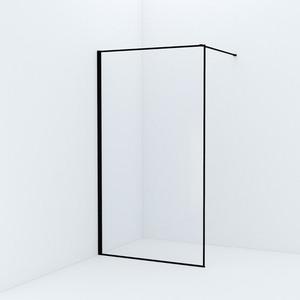 Душевой уголок IDDIS Slide 202x115 стекло прозрачное, профиль черный (SLI8BS7i23) фото