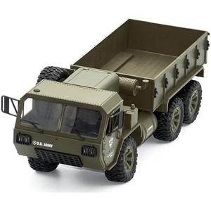 Радиоуправляемая машина Heng Long американский военный грузовик 6WD 2.4G 1/16 RTR