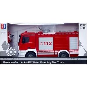 Радиоуправляемая пожарная машина Double Eagle Mercedes-Benz Arocs 1:26 2.4G