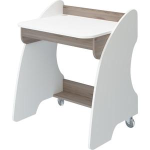 Стол компьютерный МЭРДЭС СК-13 БЕН белый/нельсон стол компьютерный merdes домино нельсон ск 7