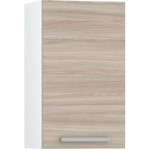 Шкаф навесной 400 Моби Кухня Лима белый/ясень шимо светлый недорого