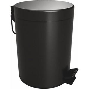 Ведро для мусора Bemeta Dark с лифтом, 5 литров (104315010)