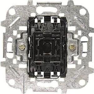 Выключатель ABB одноклавишный перекрестный BJE 10A 250V выключатель одноклавишный legrand etika 10a 250v антрацит 672601