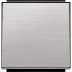 Лицевая панель ABB Sky выключателя одноклавишного нержавеющая сталь