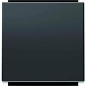 Лицевая панель ABB Sky выключателя одноклавишного чёрный бархат