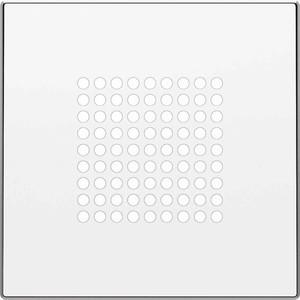 Лицевая панель ABB Sky динамика альпийский белый