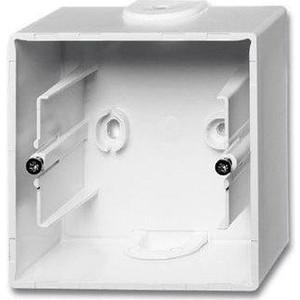 Коробка ABB для накладного монтажа 1-постовая Basic55 альпийский белый
