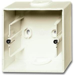 Коробка ABB для накладного монтажа 1-постовая Basic55 слоновая кость
