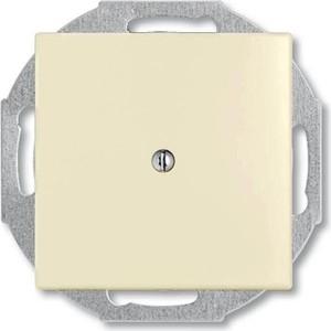 Лицевая панель ABB Basic55 вывода кабеля слоновая кость розетка celiane слоновая кость лицевая панель тройной rj45 stp 6 категории 673 90