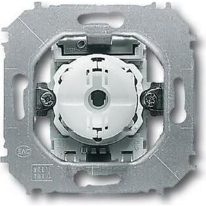 Выключатель ABB кнопочный одноклавишный Impuls 10A 250V с подсветкой N - клеммой (2CKA001413A1078) выключатель одноклавишный legrand etika 10a 250v антрацит 672601