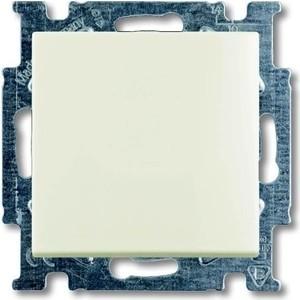 Переключатель ABB одноклавишный Basic55 10A 250V chalet - белый (2CKA001012A2189) переключатель одноклавишный schneider electric sedna 10a 250v sdn0400170