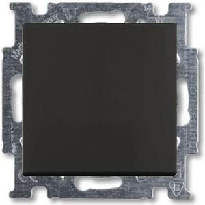 Переключатель ABB одноклавишный Basic55 10A 250V chateau - черный (2CKA001012A2179) переключатель одноклавишный schneider electric sedna 10a 250v sdn0400170