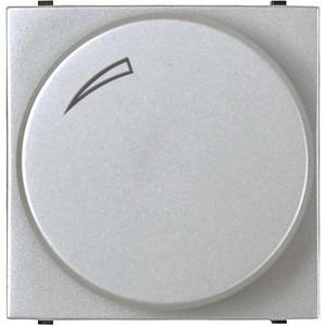 Диммер ABB поворотный Zenit серебро (2CLA226020N1301)