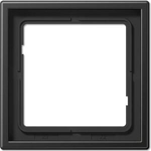 Рамка Jung 1-постовая LS 990 антрацит (лакированный алюминий) AL2981AN