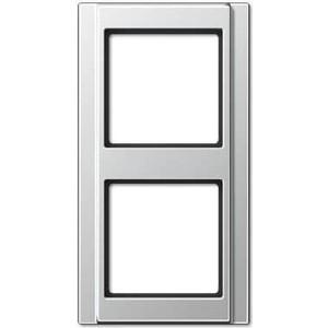 цена на Рамка Jung 2-постовая A 500 алюминий A582AL