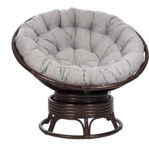 Кресло-качалка Мебель Импэкс MI-004 Papasun swivel rocker с подушкой орех