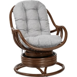 цена на Кресло-качалка Мебель Импэкс Kara с подушкой коньяк