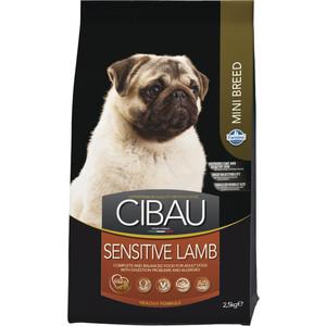 Сухой корм Farmina CIBAU Sensitive Lamb Mini c ягненком для взрослых собак мелких пород 2,5кг farmina farmina cibau puppy mini 800 г