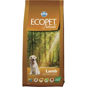 Сухой корм Farmina Ecopet Natural Adult Dog lamb с ягненком для взрослых собак 12кг