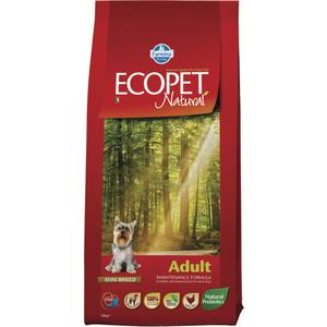 Сухой корм Farmina Ecopet Natural Adult Dog lamb с ягненком для взрослых мелких собак 12кг