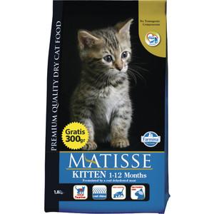 Сухой корм Farmina Matisse Kitten Chicken & Rice с курицей и рисом для котят 1,5кг