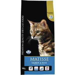 Сухой корм Farmina Matisse Salmon & Tuna с лососем и тунцом для взрослых кошек 10кг