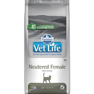 Сухой корм Farmina Vet Life Neutered Female Feline диета для стерилизованных кошек 5кг