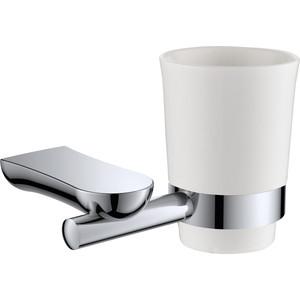 Держатель стакана Rush Luson одинарный, хром (LU16310)