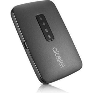 4G модем Alcatel Link Zone черный partner чехол flip case alcatel 5036 pop c5 черный