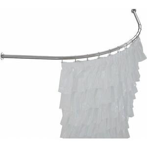 Карниз для ванны Aquanet Capri/Sarezo 160x100 см, хром (242860)