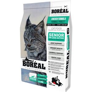 Сухой корм Boreal Functional для кошек пожилых и малоактивных всех пород с курицей 2,26кг