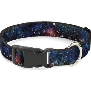 Ошейник Buckle-Down Галактика с пластиковой застёжкой 23-38см