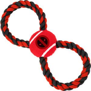 цена на Игрушка Buckle-Down Дэдпул мячик на верёвке