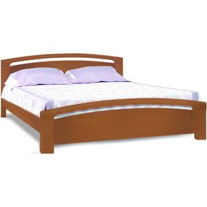 Кровать Miella Wave 200х200 орех