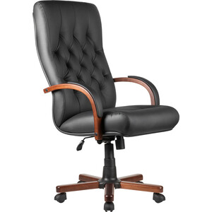 Кресло Riva Chair М 175 A Laguna Тай черная кожа