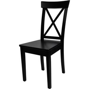 Стул Мебель-24 Гольф-14 венге/деревянное сиденье венге