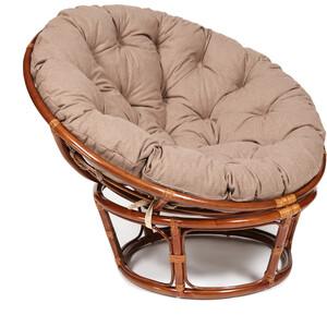 Кресло TetChair Papasan 23/01 W с подушкой Pecan орех/экошерсть коричневый 1811-5