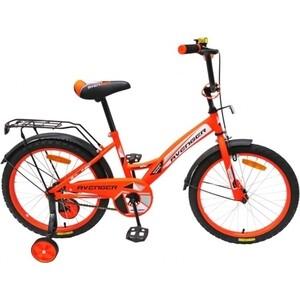 Велосипед AVENGER 12 NEW STAR, оранжевый/черный