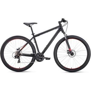 Велосипед Forward APACHE 27,5 2.0 disc (рост 21) 2020, черный мат.