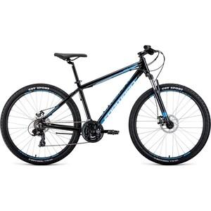 Велосипед Forward APACHE 27,5 2.0 disc (рост 17) 2020, серый/голубой велосипед forward apache 1 0 2017