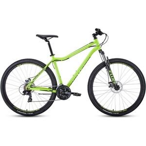 Велосипед Forward SPORTING 29 2.0 disc (рост 19) 2020, светло-зеленый/черный
