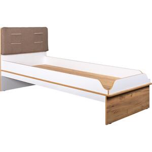 Кровать Моби Вуди 11.01 белый премиум/дуб крафт золотой 90х200 б/м