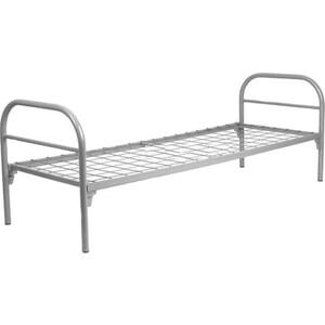 цена Кровать одноярусная Skyland КС-0 сетка 100х100 196х80х80 серый онлайн в 2017 году